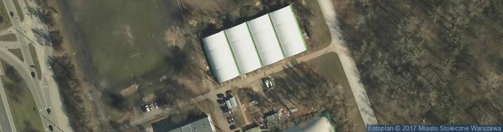 Zdjęcie satelitarne Kort tenisowy