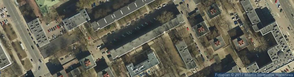 Zdjęcie satelitarne Centrum Medyczne Dantex Med