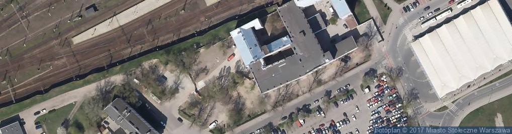 Zdjęcie satelitarne VII Oddział Terenowy Straży Miejskiej