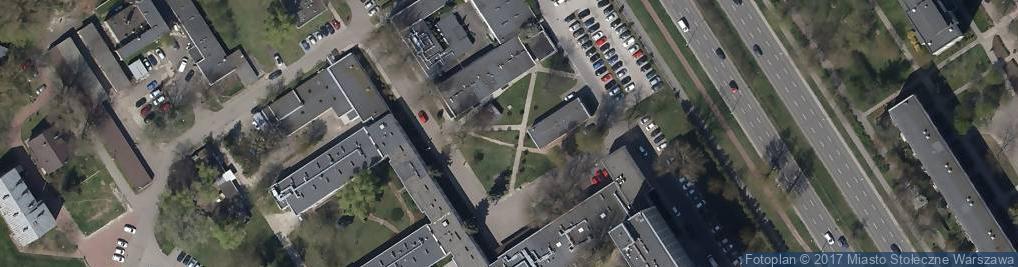 Zdjęcie satelitarne Instytut Psychiatrii i Neurologii