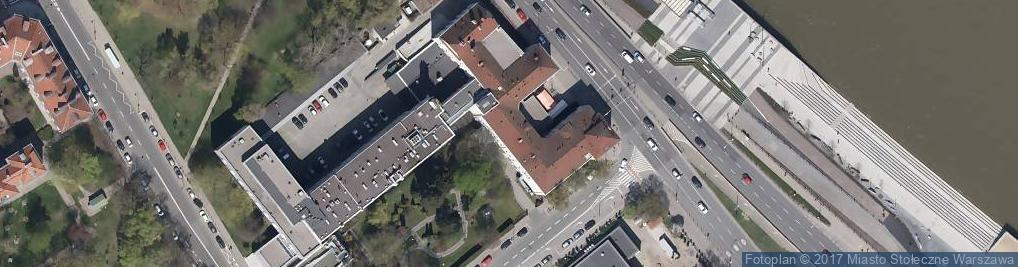 Zdjęcie satelitarne Szpital Kliniczny im. A. Mazowieckiej