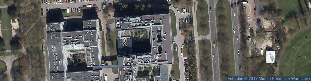 Zdjęcie satelitarne Uniwersytet Medyczny