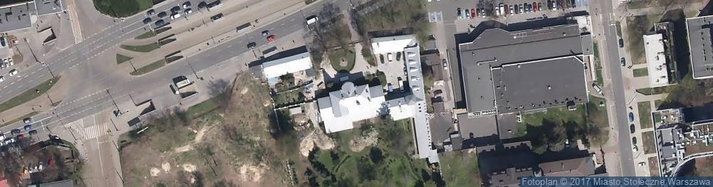 Zdjęcie satelitarne Mniszki Bose Zakonu NMP z góry Karmel
