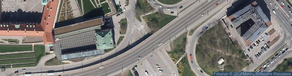 Zdjęcie satelitarne Wschodnia fasada Zamku i Arkady Kubickiego 002