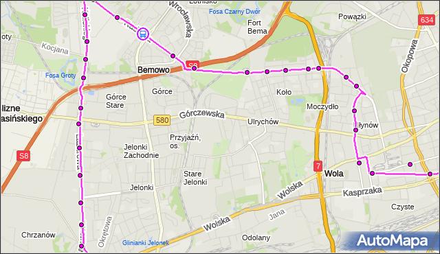 Rozkład jazdy autobusu N45 na przystanku RADIOWA 04. ZTM Warszawa na mapie Targeo