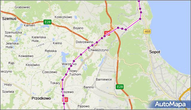 Rozkład jazdy autobusu Z na przystanku Żukowo - Urząd Gminy. ZKMGdynia na mapie Targeo