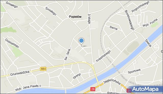 Przemyśl, Kraszewskiego Józefa Ignacego, mapa Przemyśla