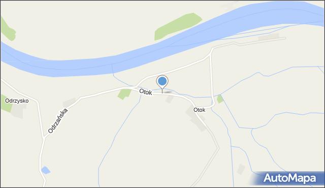 Dobrzeń Mały, Otok, mapa Dobrzeń Mały