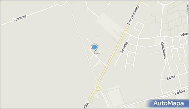 Suwałki, Piekarskiego Mariana, mapa Suwałk