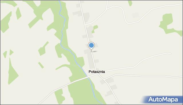 Potasznia, Potasznia, mapa Potasznia