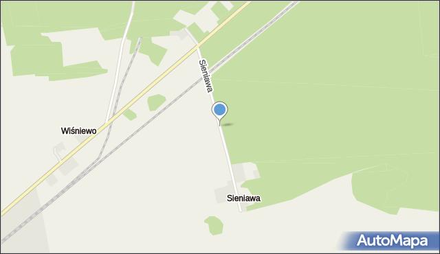 Sieniawa, Sieniawa, mapa Sieniawa