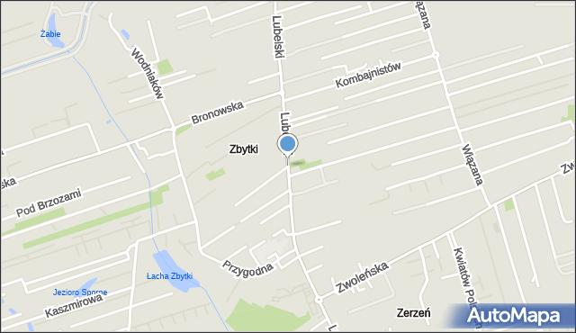 Warszawa, Trakt Lubelski, mapa Warszawy