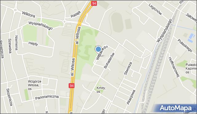 Rzeszów, Witkacego Stanisława, mapa Rzeszów