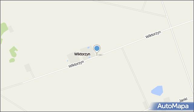 Wiktorzyn gmina Klukowo, Wiktorzyn, mapa Wiktorzyn gmina Klukowo