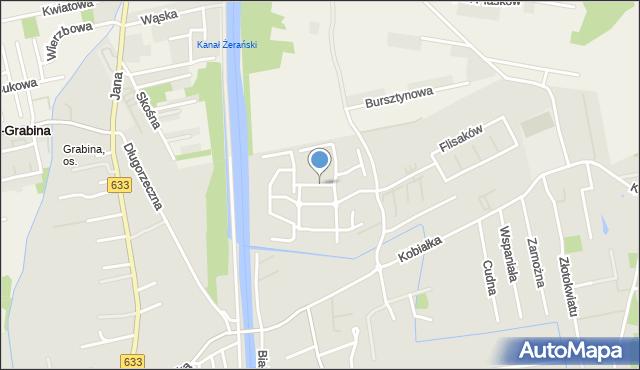 Warszawa, Żeglugi Wiślanej, mapa Warszawy