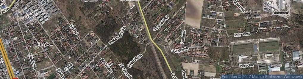 Zdjęcie satelitarne Czołowa ul.