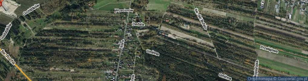 Zdjęcie satelitarne Heraklesa ul.