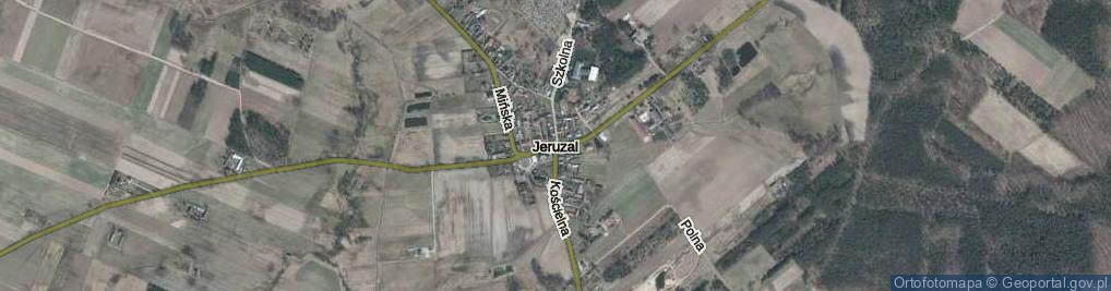 Zdjęcie satelitarne Jeruzal ul.