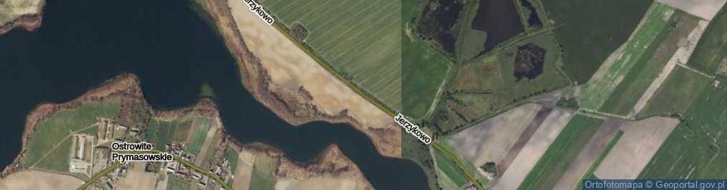 Zdjęcie satelitarne Jerzykowo ul.