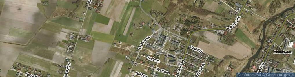 Zdjęcie satelitarne Medyczna ul.