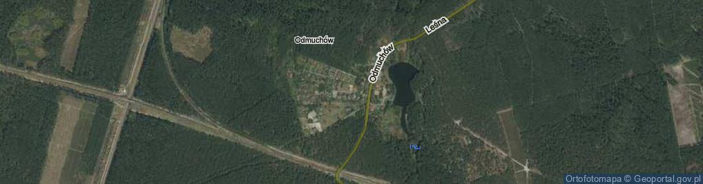 Zdjęcie satelitarne Odmuchów ul.