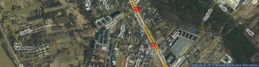 Zdjęcie satelitarne Osiedle os.