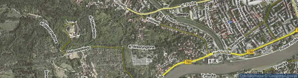 Zdjęcie satelitarne Panoramiczna ul.