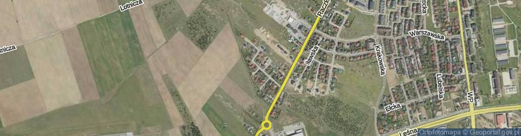 Zdjęcie satelitarne Piekarskiego Mariana ul.