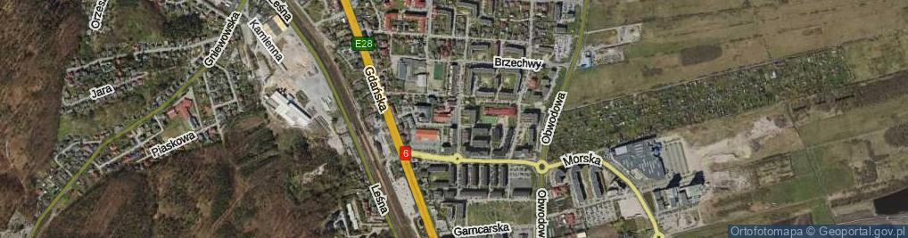 Zdjęcie satelitarne Plac św. Antoniego pl.