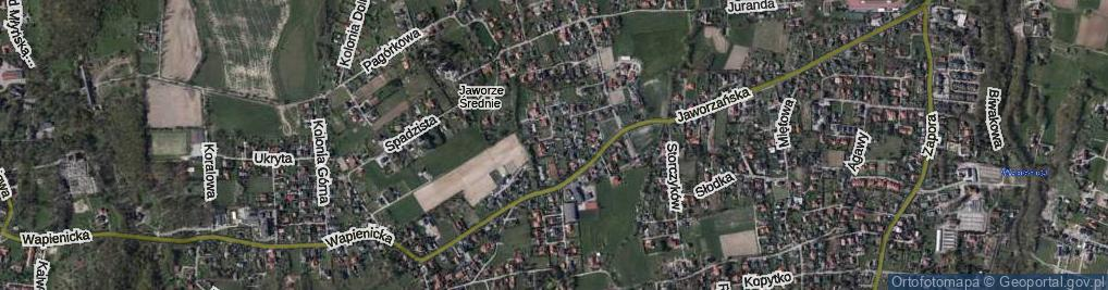 Zdjęcie satelitarne Romantyczna ul.