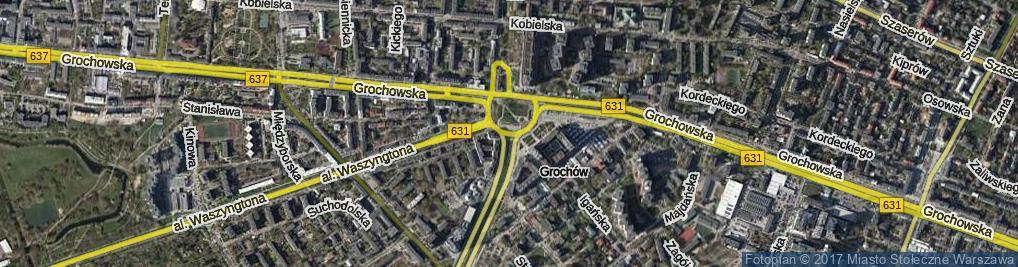 Zdjęcie satelitarne Rondo Wiatraczna rondo.