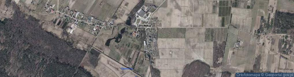 Zdjęcie satelitarne Sinołęka ul.
