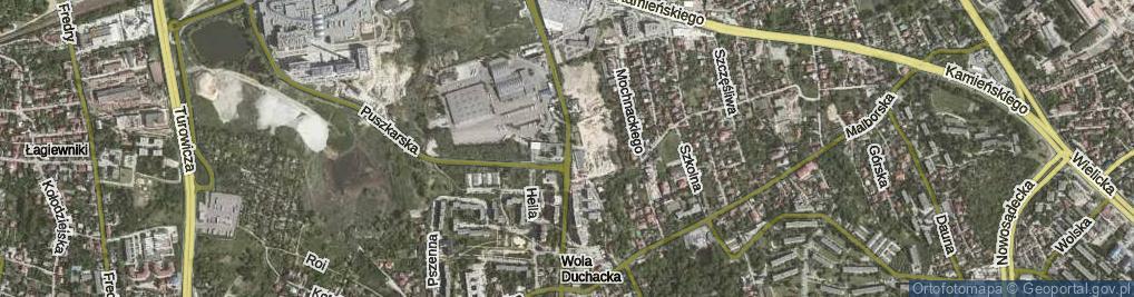 Zdjęcie satelitarne Sławka Walerego ul.