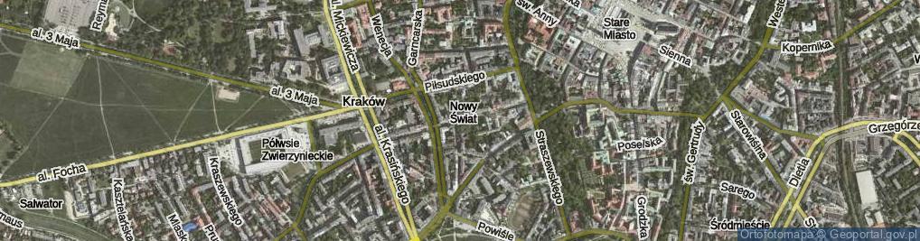 Zdjęcie satelitarne Smoleńsk ul.