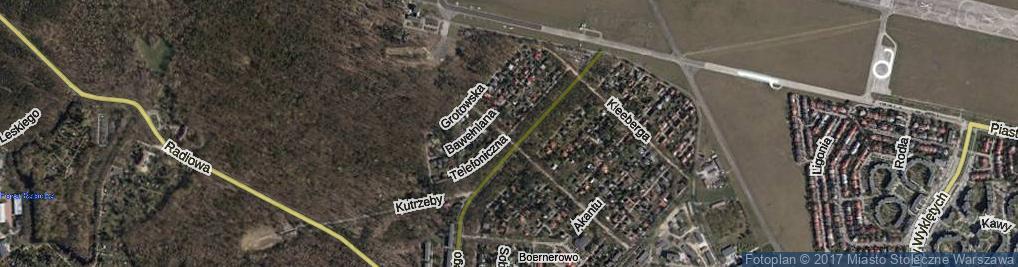 Zdjęcie satelitarne Telefoniczna ul.
