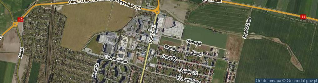 Zdjęcie satelitarne Tischnera Józefa, ks. prof. ul.