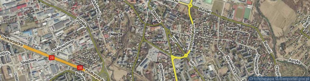 Zdjęcie satelitarne Walslebena Teodora ul.