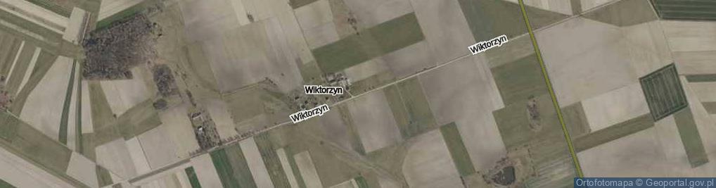 Zdjęcie satelitarne Wiktorzyn ul.