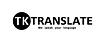 Logo - Biuro Tłumaczeń TKTRANSLATE, Staszica 12/1, Krosno 38-400 - Tłumacz, godziny otwarcia, numer telefonu