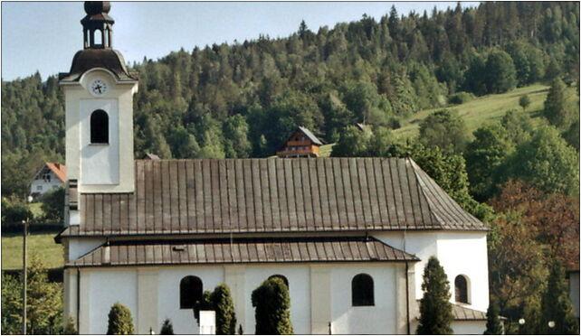 Brenna John the Baptist Church in profile 2005, 43-438 Brenna