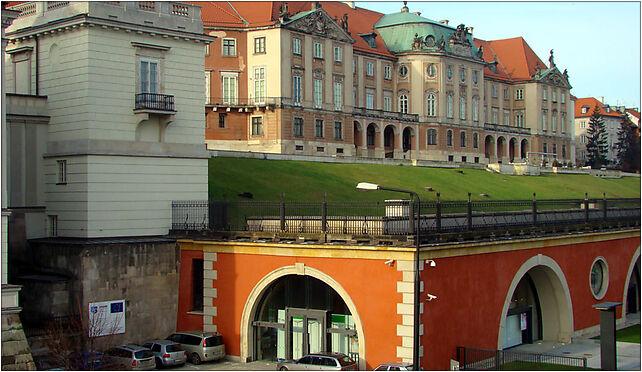 Wschodnia fasada Zamku i Arkady Kubickiego 002, Garbarska, Warszawa 00-306 - Zdjęcia